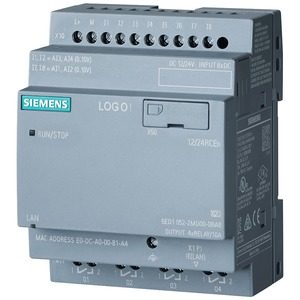 Siemens Logo! 12/24RCEO Logic Module