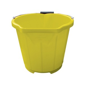 Pour and Scoop Bucket 13.6 Litre Yellow
