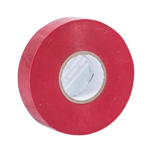 PVC Insulation Tape 33m Red