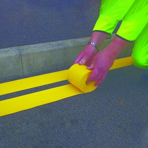 Visiline Road Marking Roll 100mm x 5m Yellow