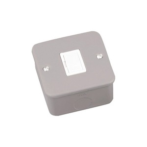 Newlec Unswitched Metalclad Fused Connection Unit 13A Grey