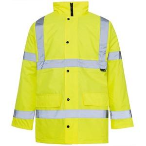 Site Exec Jacket Large Yellow