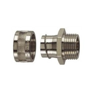 Flexicon Nickel-Plated Brass Fixed Gland Metal 20mm
