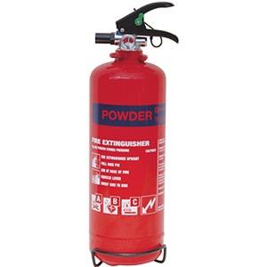 Dry Powder Fire Extinguisher 1Kg Red