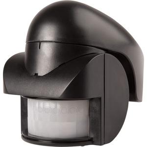 Newlec Standalone PIR 140° IP44 Black