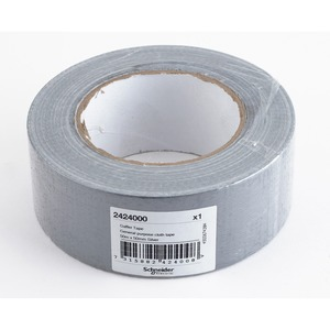 Thorsman PVC Gaffer Tape 50m x 50mm x 0.2mm Silver