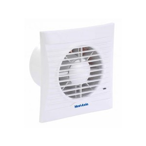 Axia Group Silhouette 100 14W 75m³/h Bathroom/Toilet Fan with Timer/PIR 147 x 86 x 65mm