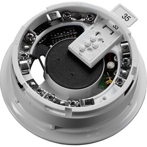 Apollo 28V Integrated Base Sounder with Isolator for Detector 115 x 38mm White