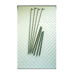 Fencing Pins with Lamp Hook Pack of 10 Steel 1370mm