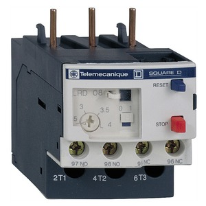 Schneider TeSys LRD 4 - 6A Thermal Overload Relay