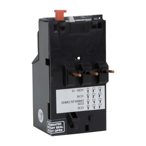 Newlec Overload Relay 13 to 18A Black