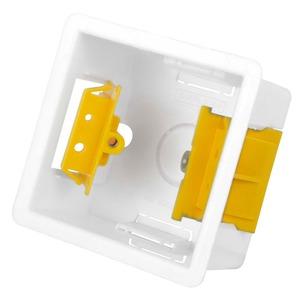 APPLEBY 1-Gang Adjustable Lug Dry Lining Box 83 x 73 x 35mm White