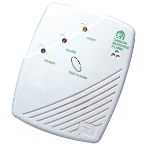 Aico Mains Wired Carbon Monoxide Alarm with Battery Backup 230V 126 x 150 x 42mm