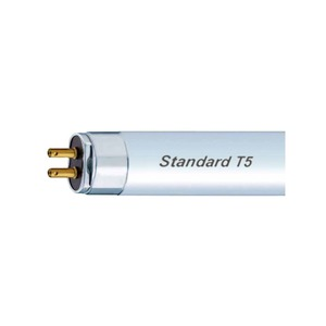 GE G5 T5 Miniature Linear Fluorescent Tube 13W 3500K 16 x 531.1mm White