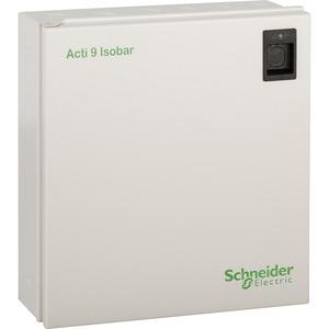 Schneider Acti9 Isobar 2 x 8-Way SP DIN Rail Module Enclosure 200 x 300 x 117mm
