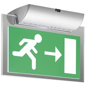 Eaton EvoLED Exit Sign Emergency Light 1W 267 x 190 x 120mm White