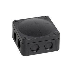 Wiska COMBI Polypropylene Junction Box 9-Inlet 4mm² 95 x 95 x 60mm Black