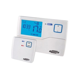 Timeguard 230V 3A SPDT Wireless Programastat 135 x 90 x 30mm White
