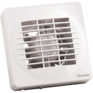Newlec Standard 100mm Fans with Timer & Humidistat - SELV
