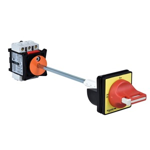 Schneider TeSys Emergency Stop Switch Disconnector Vario 3-Pole 3NO 63A Red/Yellow