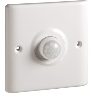 Newlec 2 Wire Wall Mounted Occupancy Detector 240V 10A White