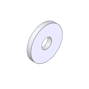 Newlec Zinc Plated Steel Washers M6 Penny