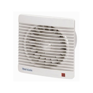 Axia Group Silhouette 150 20W 241m³/h Kitchen Fan with Shutter 223 x 130mm