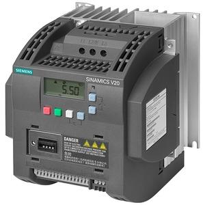 Siemens SINAMICS V20 Inverter Drive 1.1kW 200-240V AC Unfiltered I/O Interface