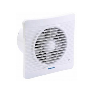 Axia Group Silhouette 150 20W 241m³/h Kitchen Fan with Timer/Shutter 223 x 130mm