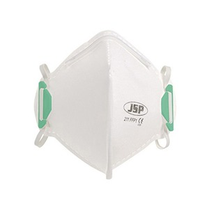 Olympus FFP1 Vertical Fold-Flat Dust Mask without Valve White (Pack of 20)