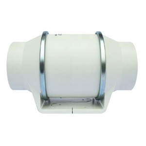 EnviroVent SILENT MV Duct Fan with Adjustable Timer 232 x 135.5 x 151mm White