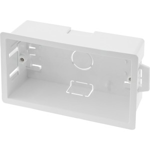 Newlec Thermoplastic Dry Lining Box 2 Gang 47mm White