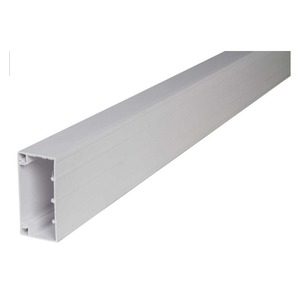 Marco Juno 1-Compartment uPVC Trunking System 100 x 50mm White