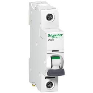 Schneider Acti9 iC60H 1-Pole 16A Curve-B Miniature Circuit Breaker 10/15kA