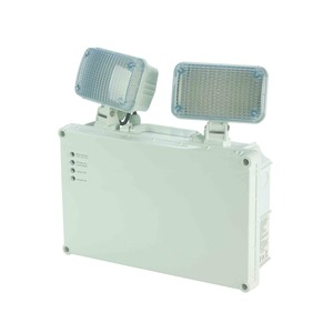 Newlec Non-Maintained Self Test LED Twinspot IP65 2 x 3W 3hr