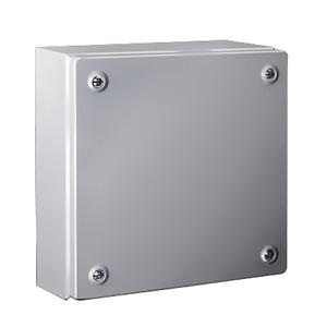 Newlec Wall Mount Steel Terminal Box with Screwed Lid 150 x 150 x 80mm