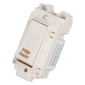 Crabtree Fridge Freezer Switch 2-Pole 20A
