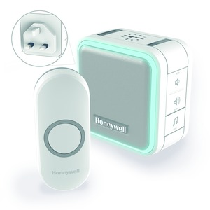Honeywell Series-5 100/240V 84dB 6-Tune 150m Wirefree Chime Kit White