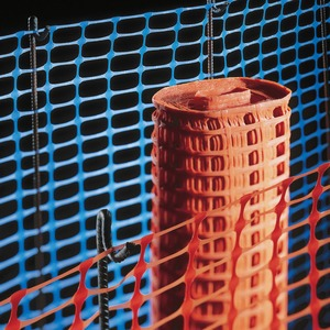 Medium Duty Barrier Fencing Mesh 50 x 1m Orange