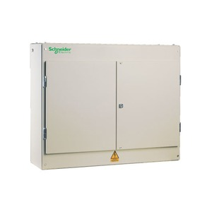 Schneider Powerpact-4 9-Way 3-Pole 250A Top Entry Panel Board 889 x 850 x 260mm Cream