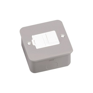 Newlec Switched Metalclad Fused Connection Unit 13A Grey
