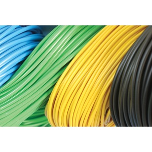 Newlec PVC Sleeving 5mm Green/Yellow