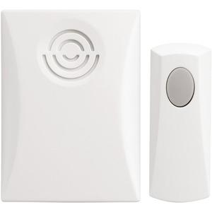 Newlec Portable Battery Doorbell Kit 50m Range White