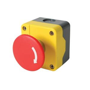 Newlec Emergency Stop Push Button Station Twist Release 60mm