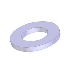 Newlec Zinc Plated Steel Washers M10 Flat