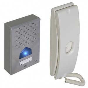 SecureFast 1-Way Audio Door Entry Kit 96 x 154 x 32mm
