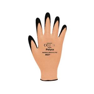 Matrix Cut Level 3 Polyurethane Glove Size 8 Orange