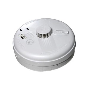 Ei Electronics 230V 85dB Heat Alarm with Remote Control Battery 145 x 52mm White