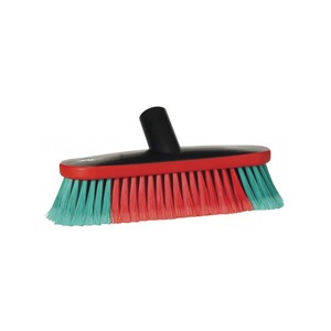 Soft Vehicle Brush 250mm Red/Green