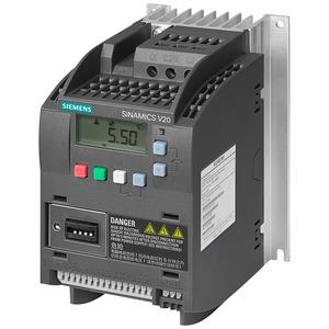 Siemens SINAMICS V20 Inverter Drive 0.55kW 380-480V AC Integrated Filter C3 I/O Interface